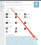 WordPress 3.5 Credits